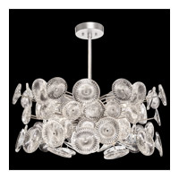 Chrysanthemums 12 Light 30 inch Silver Pendant Ceiling Light