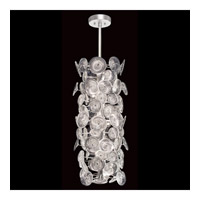 Chrysanthemums 14 Light 16 inch Silver Pendant Ceiling Light