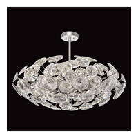 Fine Art Lamps 884440ST Chrysanthemums 12 Light 37 inch Silver Pendant Ceiling Light