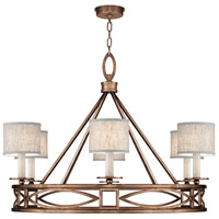 Fine Art Lamps 887640-11ST Cienfuegos 6 Light 40 inch Bronze Chandelier Ceiling Light