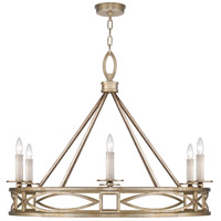 Fine Art Lamps 887640-3ST Cienfuegos 6 Light 38 inch Gold Chandelier Ceiling Light