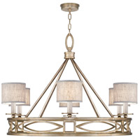 Fine Art Lamps 887640-31ST Cienfuegos 6 Light 40 inch Gold Chandelier Ceiling Light