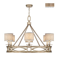 Cienfuegos 6 Light 40 inch Weathered Gray Patina Chandelier Ceiling Light