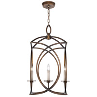 Fine Art Lamps 887740-1ST Cienfuegos 4 Light 20 inch Bronze Pendant Ceiling Light