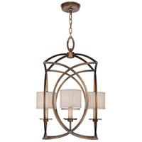 Fine Art Lamps 887740-11ST Cienfuegos 4 Light 22 inch Bronze Pendant Ceiling Light