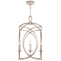 Fine Art Lamps 887740-2ST Cienfuegos 4 Light 20 inch Gray Pendant Ceiling Light