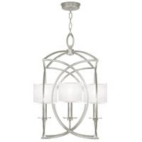 Fine Art Lamps 887740-SF41 Cienfuegos 4 Light 22 inch Silver Leaf Pendant Ceiling Light