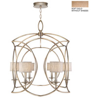 Fine Art Lamps 887840-3ST Cienfuegos 6 Light 35 inch Gold Pendant Ceiling Light