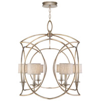 Fine Art Lamps 887840-31ST Cienfuegos 6 Light 36 inch Gold Pendant Ceiling Light