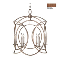 Cienfuegos 6 Light 35 inch Antiqued Bronze Pendant Ceiling Light