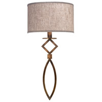 Fine Art Lamps 887950-11ST Cienfuegos 1 Light 14 inch Bronze Wall Sconce Wall Light
