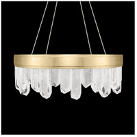 Fine Art Lamps 888040-2ST Lior LED 21 inch Gold Pendant Ceiling Light