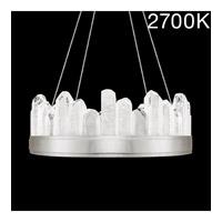 Fine Art Lamps 888040-11ST Lior LED 21 inch Silver Pendant Ceiling Light