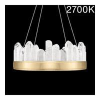 Fine Art Lamps 888040-21ST Lior LED 21 inch Gold Pendant Ceiling Light