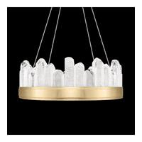 Fine Art Lamps 888040-2ST Lior LED 21 inch Gold Pendant Ceiling Light