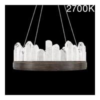 Fine Art Lamps 888040-31ST Lior LED 21 inch Bronze Pendant Ceiling Light