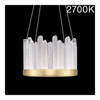 Fine Art Lamps 888140-21ST Lior LED 21 inch Gold Pendant Ceiling Light