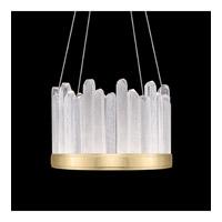 Fine Art Lamps 888140-2ST Lior LED 21 inch Gold Pendant Ceiling Light