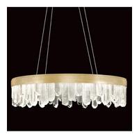 Fine Art Lamps 888240-2ST Lior LED 31 inch Gold Pendant Ceiling Light