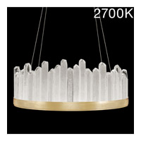 Fine Art Lamps 888340-21ST Lior LED 31 inch Gold Pendant Ceiling Light