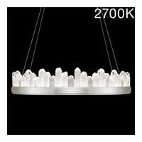 Fine Art Lamps 888440-11ST Lior LED 41 inch Silver Pendant Ceiling Light