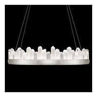 Fine Art Lamps 888440-1ST Lior LED 41 inch Silver Pendant Ceiling Light