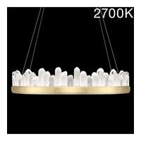 Fine Art Lamps 888440-21ST Lior LED 41 inch Gold Pendant Ceiling Light