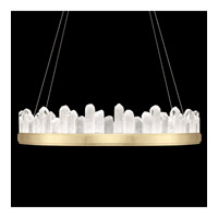 Fine Art Lamps 888440-2ST Lior LED 41 inch Gold Pendant Ceiling Light