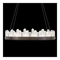 Fine Art Lamps 888440-3ST Lior LED 41 inch Bronze Pendant Ceiling Light