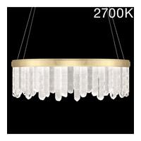 Fine Art Lamps 888540-21ST Lior LED 41 inch Gold Pendant Ceiling Light
