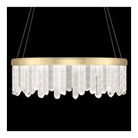 Fine Art Lamps 888540-2ST Lior LED 41 inch Gold Pendant Ceiling Light