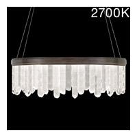 Fine Art Lamps 888540-31ST Lior LED 41 inch Bronze Pendant Ceiling Light