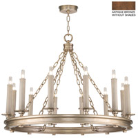 Fine Art Lamps 888640-1ST Cienfuegos 12 Light 31 inch Bronze Chandelier Ceiling Light