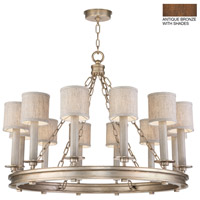 Fine Art Lamps 888640-11ST Cienfuegos 12 Light 34 inch Bronze Chandelier Ceiling Light