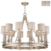 Fine Art Lamps 888640-21ST Cienfuegos 12 Light 34 inch Gray Chandelier Ceiling Light