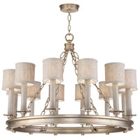 Fine Art Lamps 888640-31ST Cienfuegos 12 Light 34 inch Gold Chandelier Ceiling Light