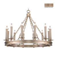 Cienfuegos 12 Light 31 inch Weathered Gray Patina Chandelier Ceiling Light