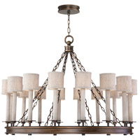 Fine Art Lamps 888740-11ST Cienfuegos 16 Light 44 inch Bronze Chandelier Ceiling Light