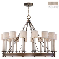 Fine Art Lamps 888740-21ST Cienfuegos 16 Light 44 inch Gray Chandelier Ceiling Light