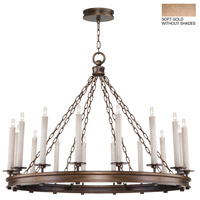 Fine Art Lamps 888740-3ST Cienfuegos 16 Light 41 inch Gold Chandelier Ceiling Light