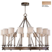 Fine Art Lamps 888740-31ST Cienfuegos 16 Light 44 inch Gold Chandelier Ceiling Light