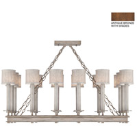 Fine Art Lamps 888840-11ST Cienfuegos 14 Light 42 inch Bronze Chandelier Ceiling Light