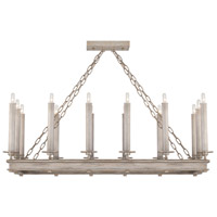 Fine Art Lamps 888840-2ST Cienfuegos 14 Light 41 inch Gray Chandelier Ceiling Light