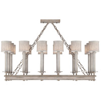 Fine Art Lamps 888840-21ST Cienfuegos 14 Light 42 inch Gray Chandelier Ceiling Light