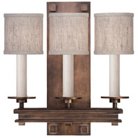 Fine Art Lamps 888950-11ST Cienfuegos 3 Light 15 inch Bronze Sconce Wall Light