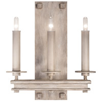 Fine Art Lamps 888950-2ST Cienfuegos 3 Light 14 inch Gray Wall Sconce Wall Light