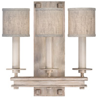 Fine Art Lamps 888950-21ST Cienfuegos 3 Light 15 inch Gray Wall Sconce Wall Light