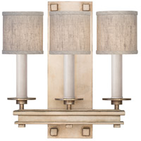 Fine Art Lamps 888950-31ST Cienfuegos 3 Light 15 inch Gold Wall Sconce Wall Light