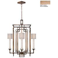 Fine Art Lamps 889040-31ST Cienfuegos 4 Light 24 inch Gold Chandelier Ceiling Light