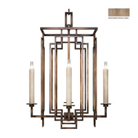 Fine Art Lamps 889040-2ST Cienfuegos 4 Light 22 inch Weathered Gray Patina Chandelier Ceiling Light